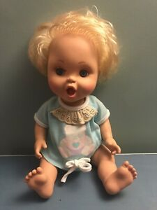Galoob Baby Face Doll Bathtub #23 So Excited Becca