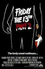 Friday The 13th part 2  - (1981) 16mm Horror Feature Film LPP Low Fade