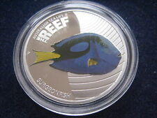 "MDS AUSTRALIEN 50 CENTS 2012 PP / PROOF ""SURGEONFISH"",  SILBER"