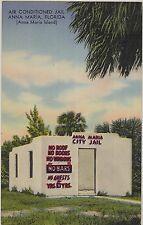 c1940s/1957 Anna Maria Island Air-Conditioned Jail Florida FL postcard view