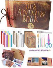 Album Scrapbook Couple Adventure Book Handmade Leather Travel Photos Love Gift
