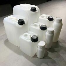 3 x 5 Liter weiß CK Kanister Camping Outdoor Getränkekanister lebensmittelecht
