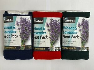 Fleece Wheat Heat Packs Lavender Microwave Heat Bag For Pain Relief 100% Natural