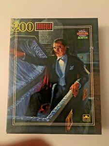 NIB 200pc Dracula Puzzle Universal Studios Golden 1990