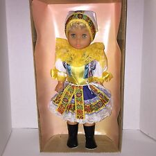 PIESTANY 21 Inches (53cm) Czech Doll  Traditional Clothing In Original Box