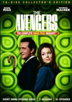The Avengers: The Complete Emma Peel Megaset (16 Disc, Collectors Edit) DVD NEW