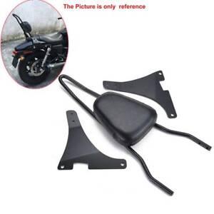 Cuscino sedile passeggero schienale Sissy Bar Harley Davidson Sportster XL 883