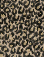 POLLACK LEOPARD CATS MEOW CUT VELVET FABRIC 10 YARDS SHADOW