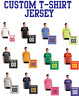 Custom T-Shirt Team Jersey Personalized - ANY COLOR/NUMBER Football Soccer PC54