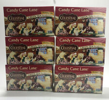 Celestial Seasonings Green Tea - Candy Cane Lane Decaf - 20 Count - Pack of 6