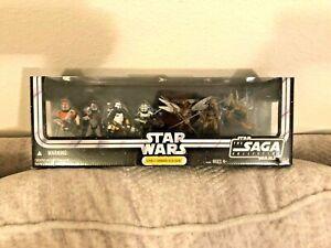 New Hasbro Star Wars Republic Commando Delta Squad Set Action Figure