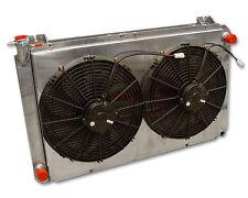 PWR NISSAN GQ PATROL LS1 OUTLETS 55MM Crossflow Radiator PWR5757-1