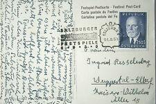 Frankierte Kunst & Kultur Ansichtskarten ab 1945 mit dem Thema Künstlerkarte