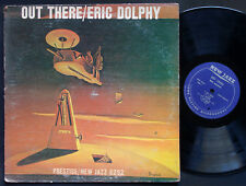ERIC DOLPHY Out There LP NEW JAZZ NJLP 8252 RVG MONO Roy Haynes Ron Carter