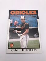 CAL RIPKEN JR 1986 86 Topps #340 - BALTIMORE ORIOLES O'S HOF EXCELLENT CARD