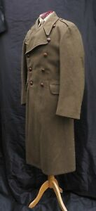 """1951 - Officer's Dismounted Greatcoat - Lord Crichton-Stuart - British Army 40"""""""