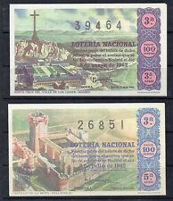 España Loteria Nacional decimosedición facsimil del año 1962 (CU-552)