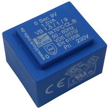 Block VB1,5/1/9 Trafo Printtrafo 1,5VA 9V Netztrafo Transformator 857654