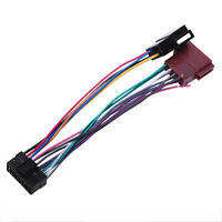 16Pin Car Stereo Radio Harness For Sony Radio Play Plug Auto Adapter Harnes A5G7