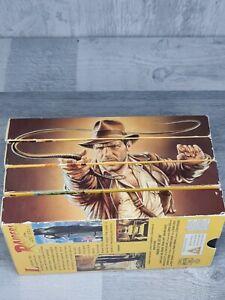 Indiana Jones Vhs Set Vintage