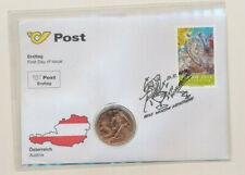5 Euro Numisbrief öSTERREICH  - NBE 27c -Ski Wm 2013 Schladming  Eiamaya