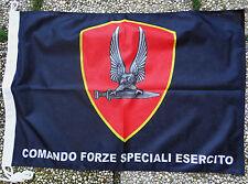 """Bandiera Stemma """"COMFOSE - COMANDO FORZE SPECIALI DELL'ESERCITO"""" - (50X75)"""