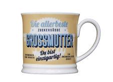 Oma Becher DIE ALLERBESTE GROSSMUTTER Retrobecher Kaffeebecher von GlasXpert