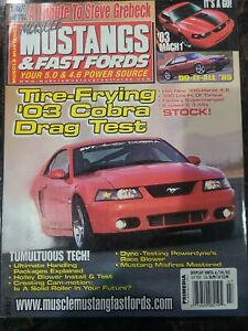Muscle Mustangs & Fast Fords MM&FF Back Issue July 2002