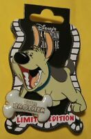 Disney Little Brother Dog with Bone Bone LE 300 Pin DSF DSSH Mulan **NEW**