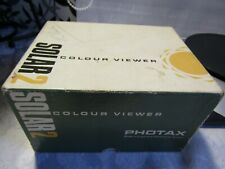 Solar 2 Photax Colour Hand Held Slide Viewer in Orig. Box FWO & A Box of Slides