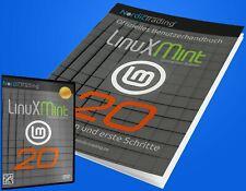 NEU: Linux Mint 20.2 Cinnamon DVD incl. gedrucktem Handbuch Betriebssystem