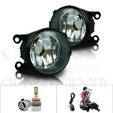 For 2014 Ram ProMaster Fog Lights w/Wiring Kit & C6 LED Bulbs - Clear