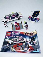 Lego Friends Set 41107 Pop Star Limo 100% Complete Instructions Retired