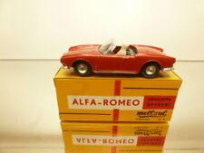 METOSUL #3 ALFA ROMEO GIULIETTA SPIDER - RED 1:43 - VERY GOOD CONDITION IN BOX