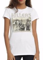 THE KILLERS Band Photo Women's Girls Juniors T-Shirt NEW Licensed & Official