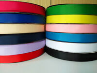20mm(3/4'') Multi Color Grosgrain Ribbon For Bow Hand Making Diy Craft Decor