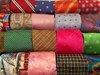 Lot 80 Pcs 100% Silk Mens Designer Neckties Suit Formal Job Wear Bulk Tie Lots