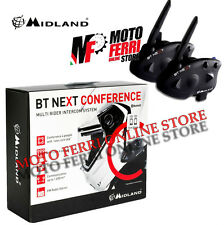 INTERFONO MIDLAND BT NEXT BTNEXT CONFERENCE TWIN COPPIA BLUETOOTH BMW GS R1200