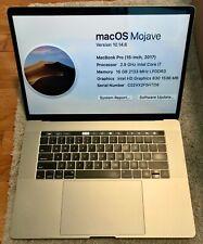 "New ListingExcellent 15"" Apple MacBook Pro 2017 Touch Bar 2.9Ghz i7 16Gb Ram 512Gb"