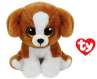 TY BEANIE BABIES SNICKY DOG CANE 15 CM T 42182 BOOS NEW JUN 2016