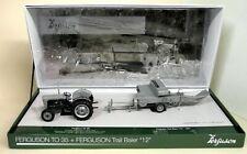 "UH 1/32 Scale Ferguson TO 35 + Ferguson Trail Baler ""12"" diecast model Tractor"
