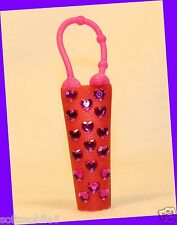 Bath & Body Works RED & PINK Heart Jewel Sparkly Cute Lip Gloss Case Holder