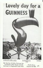 Advertising Postcard - Guiness - 1955 - Lovely Day for A Guiness  U902