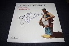 JANGO EDWARDS signed signiert Autogramm auf Vinyl Platte CLOWN ZIRKUS InPerson