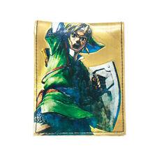 Ufficiale Nintendo Zelda collegamento Legenda Foto Stampa Oro PIEG. Gamer Wallet Purse