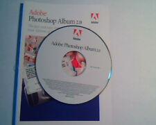 CD Adobe PhotoShop Album 2.0 installation number - Organize and share photos