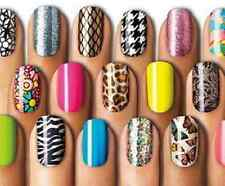 SALLY HANSEN SALON EFFECTS # 530 AFLORABLE 16 NAIL STRIPS FREE SHIPPING