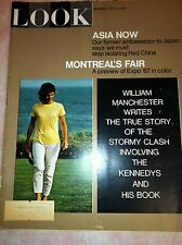 LOOK APRIL 4,1967 WILLIAM MANCHESTER-THE KENNEDYS AND HIS BOOK- MAGAZINE