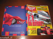 AUTOSPRINT 2001/10=GP F1 AUSTRALIA=MICHAEL SCHUMACHER=I TEAM DELLA CART=