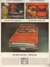 1965 Chevrolet Nova SS Conv - Classic 10x13 Vintage Advertisement Ad LG17 Chevy